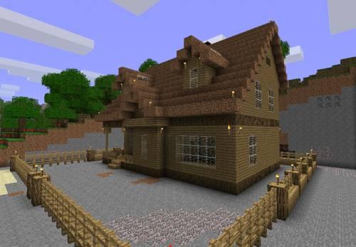 Мои первые постройки