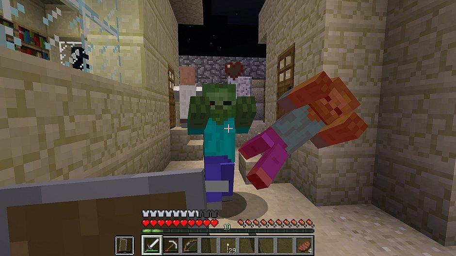 Советы по сражению в Minecraft 1.9