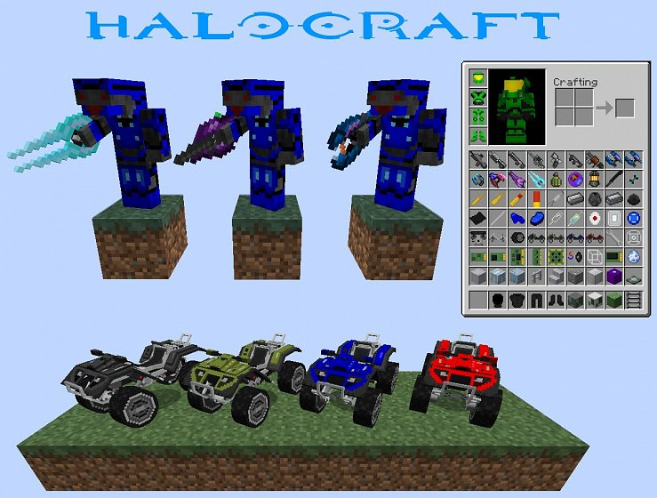 Halocraft V0.7.1 (MC 1.7.10)