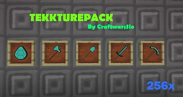 Tekkturepack - качественный текстурпак