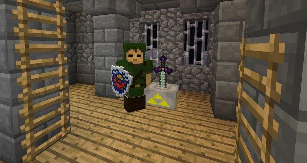 Zelda Swords Skills - Zelda в Minecraft