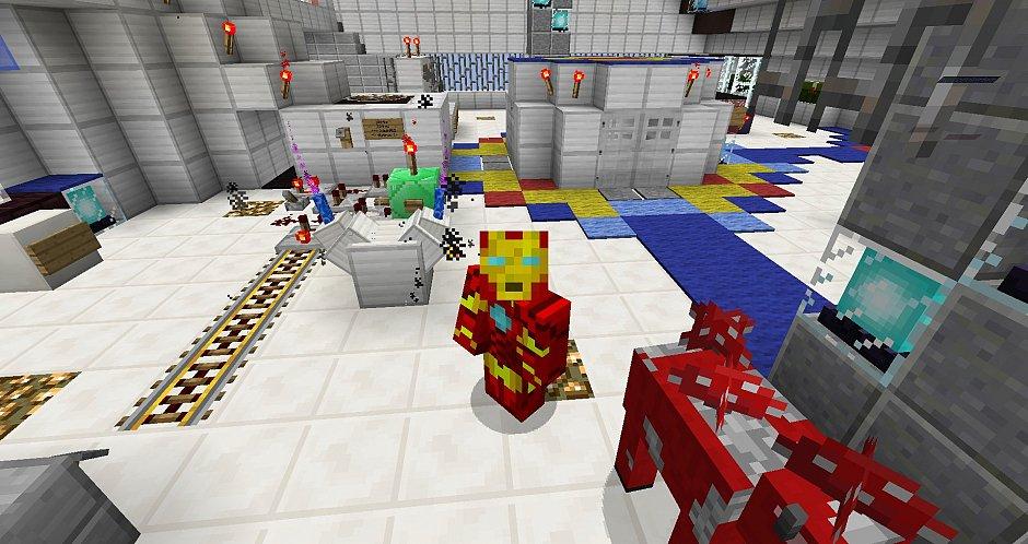 Железный человек в Minecraft - Без модов!