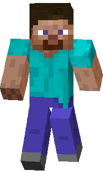 Скин игрока в Minecraft negative