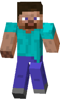 Скин игрока в Minecraft ped4